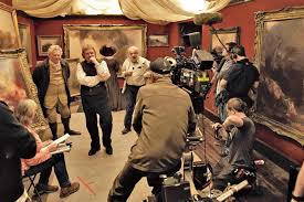 on location with mr turner behind the scenes of mike leigh u0027s