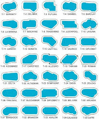 Shapes Of Pools | pool shapes pinteres