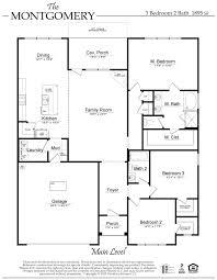 the montgomery floor plan al new home construction davidson homes