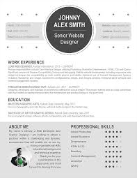 The Best Looking Resume by Contemporary Resume Templates Berathen Com