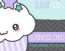 Design Custom Business Cards Etsy Business Card Etsy