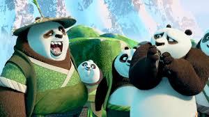 kung fu panda 3 movie clip secret panda village 2016