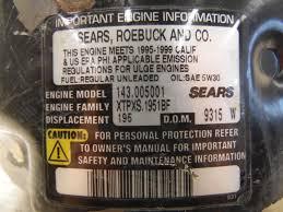 tecumseh craftsman 143 005001 engine dipstick 35556 ebay
