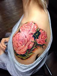 30 best rose shoulder tattoos for women images on pinterest