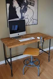 Pipe Desk Diy Diy Pipe Desk Rawsolla