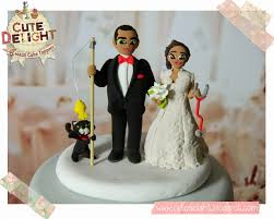 fisherman cake topper wedding cake toppers custom cake topper cake toppers cake