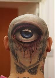 back 3d eye for tattooshunt com