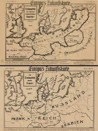 Schweinfurt Germany Map by 1915 Propaganda Map Alternate History Discussion