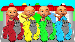 Upin Ipin Upin Ipin And Gorilla Learn Colors And Numbers For