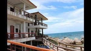 ocean view bungalows hotel ko tao thailand youtube