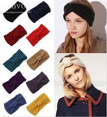 where to buy headbands womens warm crochet headwrap winter autumn crochet beanies knit