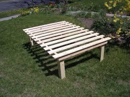 wooden slat bed frame twin ktactical decoration