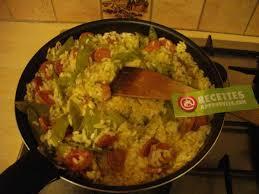 cuisiner des haricots plats risotto aux chorizo et haricots plats vinie m