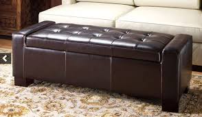 large leather ottoman bonners furniture