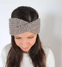 crochet hair band women knit headband knit hair band ear warmer knit twist headband