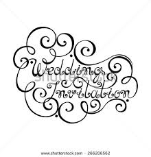 wedding invitation symbols stock images similar to id 271179287 save the date lettering