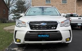 forester decal added a custom grill badge u0026 fog light overlays subaruforester