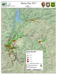 Jackson Hole Map Moose Day 2017 Yields Record Results Jackson Hole Wildlife