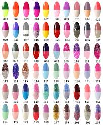 amazon com perfect summer new 8ml gel polish temperature colors