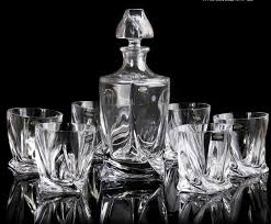 barware sets 2018 2015 barware bar sets special czech bohemian crystal glass