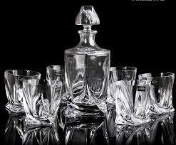 barware sets 2018 2015 barware bar sets special czech bohemian crystal glass