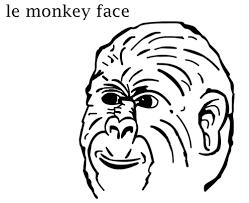 Monkey Face Meme - le monkey face memearchive