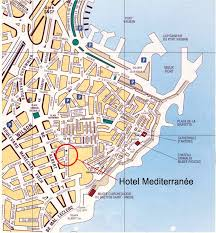 map of antibes antibes map