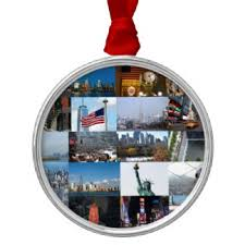 Round Top Metal Christmas Decorations by 17 Empire State Building Round Metal Christmas Decorations
