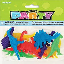 Favor Toys by Plastic Dinosaur Favor Toys Assorted 12ct