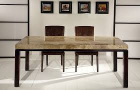 Travertine Dining Room Table Dining Room View Stone Top Dining Room Tables Home Design Image