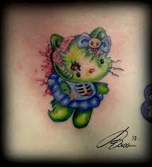zombie hello kitty tattoos rebelcircus com