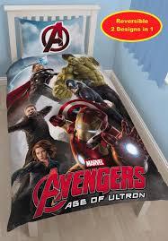 Avengers Duvet Cover Single Marvel Avengers Age Of Ultron Single Panel Duvet Cover Set Was