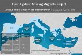 Map Of Mediterranean Countries Migrant Refugee Arrivals By Sea Surpass A Record 430 000