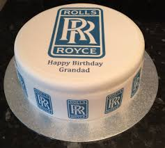 roll royce logo rolls royce logo edible icing cake topper u2013 the caker online