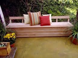 outdoor patio furniture storage bench cedar patio storage bench