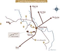 Coc Map Discoveries Around Tam Coc Garden Tam Coc Garden