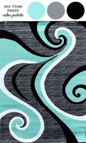 color palette gray gorgeous teal and gray rug u2013 corug