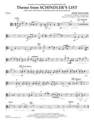 theme schindler s list cello download theme from schindler s list viola sheet music by john