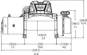 warn industries jeep truck u0026 suv winches vr12 s