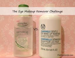 eye make up remover almay vs simple pretty gossip