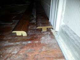 Patio Door Sill Laminate Flooring Doorway Transition Hardwood Floor Patio