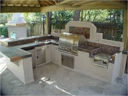 Kitchen With Stainless Steel Backsplash Bar Rang Hood Flagstone Floor And Traditional Pergola Natural