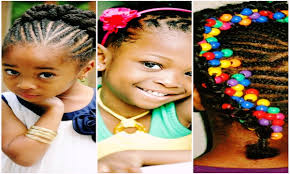 beautiful cute braided hairstyles for black little girls youtube