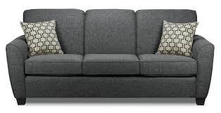 leons furniture kitchener langley sofa charcoal s