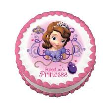 sofia the cake topper sofia the edible cake topper on frosting paper never