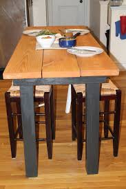 How To Make A Kitchen Table by Kitchen Ideas With Black Appliances And White Vinyl Furniture