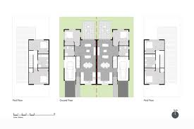 semi detached floor plans typical layouts auckland design manual