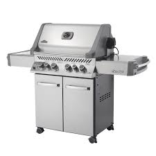 napoleon prestige p500rsib grill with rear side infrared burner