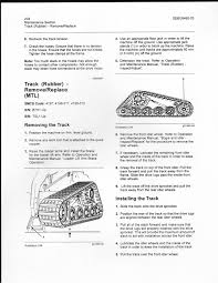 cat 247 operation manual i have a cat 259d skid loader rental and the rear idler wheel