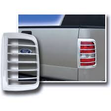 2004 f150 tail lights 2004 2008 ford f150 ses chrome tail light covers styleside ebay